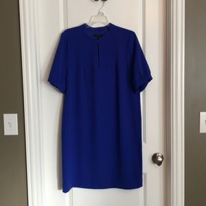 JCrew Blue Midi Lined Dress 12